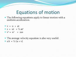 5 equations