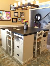 Diy Desk Ana White Four Station Desk Pb Inspired Diy Projects