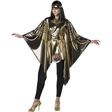 Halloween Womens Cleopatra Poncho Adult Costume By Fun