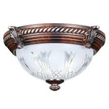 furniture dazzling bronze flush mount ceiling light 23 kichler