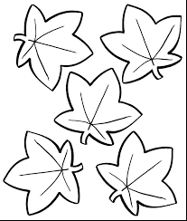 crayola coloring pages autumn leaves leaf printable fall le