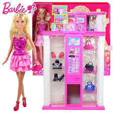 Barbie Vending Machine Interesting Original Barbie Doll House Vending Machine Barbie Dress Princess