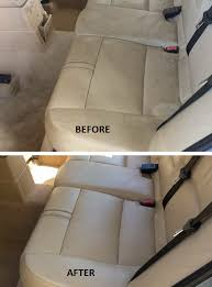 then the leather conditioner replaces lost moisture and res the softness to leather seats two steps is all it takes to keep leather upholstery feeling