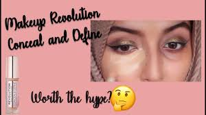 makeup revolution conceal and define review c6 c7 c10 c14 the blushing giraffe