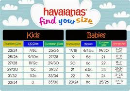 Havaianas Size Chart Us Havaianas Size Guide Shaymartian