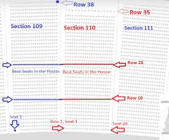 Giants Stadium Seating Chart With Seat Numbers Center Seat Numbers Online Charts Collection
