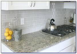 light gray glass subway tile light gray subway tile grey kitchen herringbone