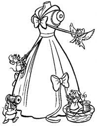 Small Picture Cinderella Wedding Dress Coloring Pages Coloring Pages