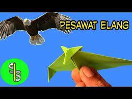 Cara membuat origami elang !: Pesawat Elang Cara Membuat Origami Pesawat Terbang Ide Kreatif Dengan Kertas Youtube Origami Pesawat Sederhana