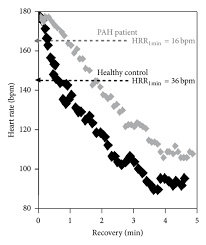 Post Exercise Heart Rate Chart Heart Rate Hr Response After Incremental Exercise In A