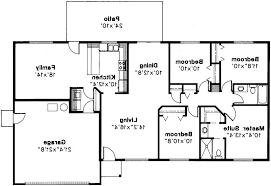 Square Foot Ranch House Plans  rectangle house floor plans    Rectangular Ranch House Floor Plans