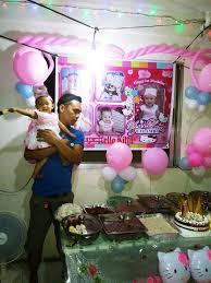 first birthday celebration of my niece
