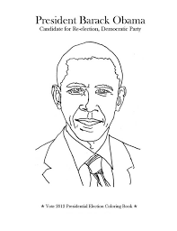 Small Picture Barack Obama President of USA Colouring Page Colouring Pics
