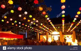 Light Up Paper Lanterns Paper Lanterns Light Up Bongeunsa Temple On Buddhas