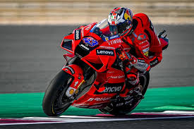 Welcome to the ducati lenovo team. Motorlat Moto Gp Doha Gp Fp1 Jack Miler Leads The Ducati 1 2 As Reigning Champion Missed Out On Direct Q2 Shot