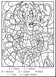 Awesome Color With Number Coloring Pages And For Kindergarten 50