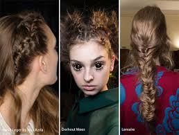 fall winter 2017 2017 hairstyle trends braided hairstyles