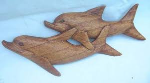 animal wood sculture supply shop two swimming dolphin wall decor carving on wooden dolphin wall art with animal wood sculture supply shop two swimming dolphin wall decor