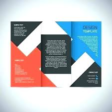 2 Folded Brochure Template Double Fold Brochure Template Tri Free Download Powerpoint