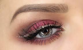 cranberry and gold eye makeup tutorial shonagh scott showme makeup you