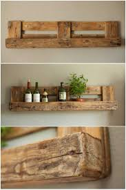 Shelves Made From Pallets Best 20 Pallet Shelves Ideas On Pinterest Pallet Shelving