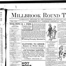 millbrook round table millbrook n y 1892 190 january 13 1900 page 1 image 1 nys historic newspapers