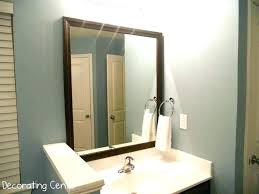 narrow bathroom mirror with shelf small vanity mirrors tall slim mirrored cabinet arched large size of