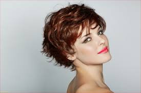 short haircuts for fine wavy hair 25 short curly hair with bangs