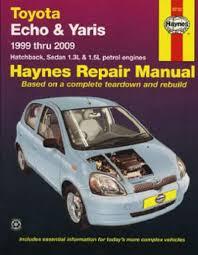 Toyota Echo Yaris 1999-2009 Haynes Service Repair Manual - workshop ...