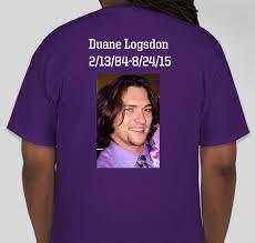 Duane Logsdon Memorial Custom Ink Fundraising