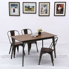 industrial furniture cheap. Industrial Style Metal Restaurant Furniture Set With Wooden Table Top Pictures To Cheap