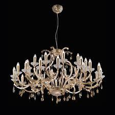 swarovski crystal lighting. Large Gold Plated Swarovski Crystal Chandelier Lighting