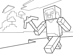 free printable minecraft creeper coloring pages face