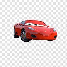 Cars Ferrari F430 Michael Schumacher Big Red Sports Car Cartoon Man Transparent Png