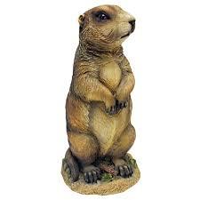 h pesty the garden gopher statue