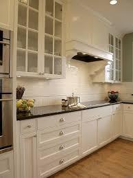 Black Granite Countertops With Tile Backsplash Property
