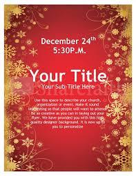 Christmas Flyer Templates Joy Of Christmas Flyer Template Flyer Templates
