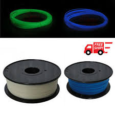 <b>New</b> 1.75mm Nylon <b>Luminous 3D</b> Printing Filament Fluorescence ...