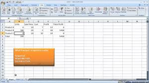 How To Use Solver In Excel Use The Excel Solver Tool