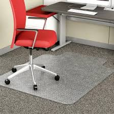 plastic carpet cover creative idea for office chair protector mat standard clear fine architecture