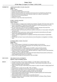 Supply Chain Analyst Resume Supply Chain Analyst Resume Samples Velvet Jobs 1