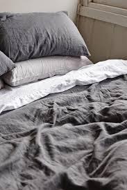 full image for amazing dark grey linen duvet cover 4 charcoal grey linen quilt cover linen