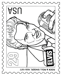 elvis coloring pictures. Unique Pictures Elvis Coloring Book Popular Throughout Pictures V