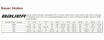 23 Symbolic Easton Skates Size Chart