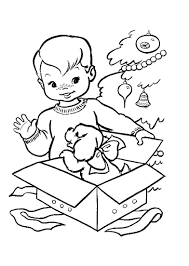 Free Little Boy Coloring Pagesllll L