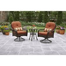 better homes and gardens azalea ridge 3 piece outdoor bistro set