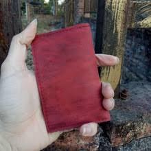 Винтажный <b>бумажник для кредитных карт</b> из натуральной кожи ...
