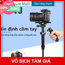 RẺ VÔ DỊCH Tay cầm chống rung cơ gimbal cơ S40 chống rung -Stabilizer  Steadicam cho camera hành trình, hành động, điện t tại Hà Nội