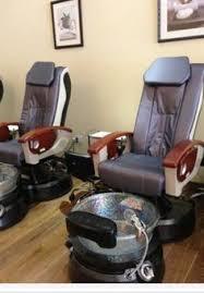 nail spa barber chair salon ideas salons lounges