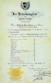 Albert Einstein's Report Card | Big Think